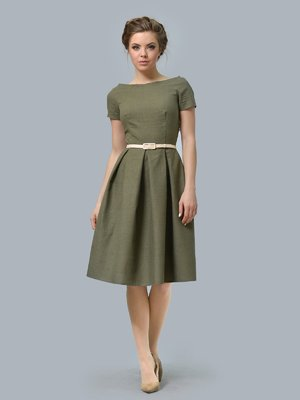 Платье цвета хаки | 3178120