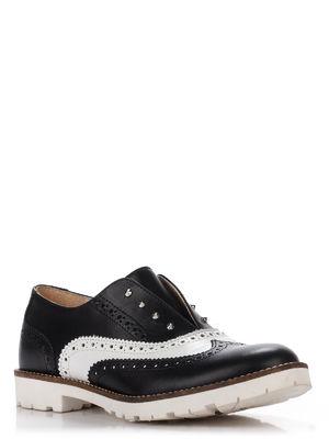 Туфли черно-белые | 3273452