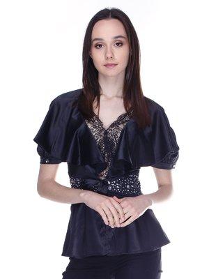 Блуза чорна | 3273304