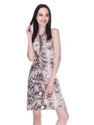 Сукня анімалістичного забарвлення | 3273294