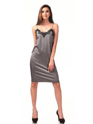 Платье серое | 3290497