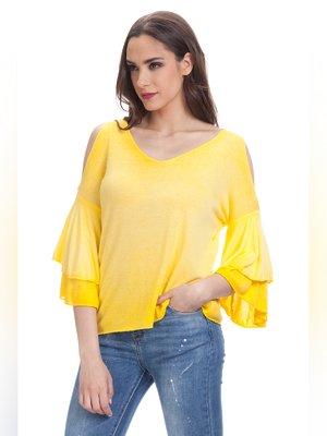Блуза желтая | 3291766