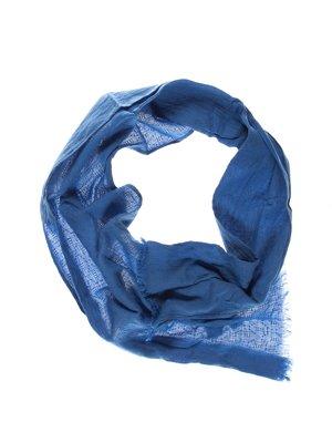 Шарф синий | 3265788