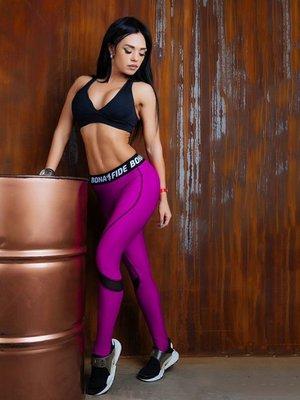 Легінси фіолетові | 3296956