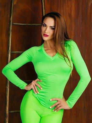 Пуловер зелений | 3296968