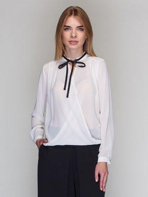 Блуза молочного цвета | 2085079