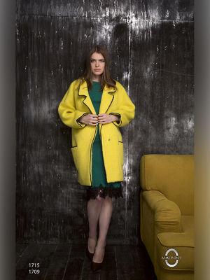Пальто желтое | 2596411