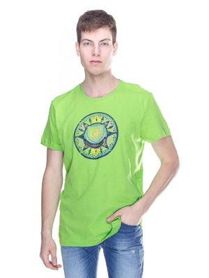 Футболка зелена | 3180221
