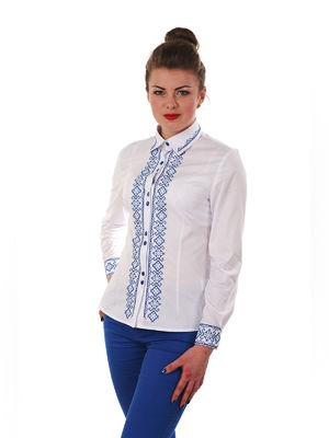 Сорочка біла з вишивкою | 3302689