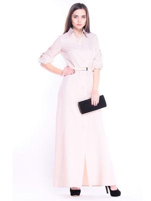 Платье бежевое | 3305066