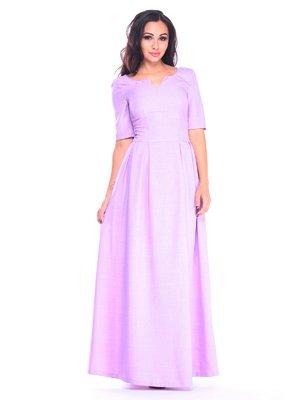 Платье светло-фиалкового цвета | 3258194