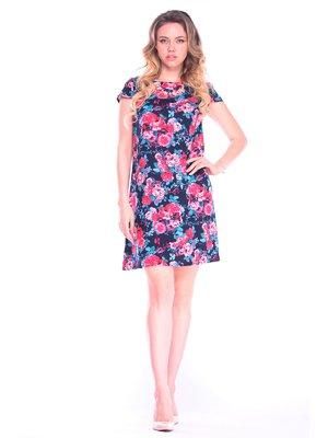 Платье в цветочный принт | 3258346