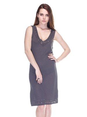 Сукня темно-сіра | 3276611