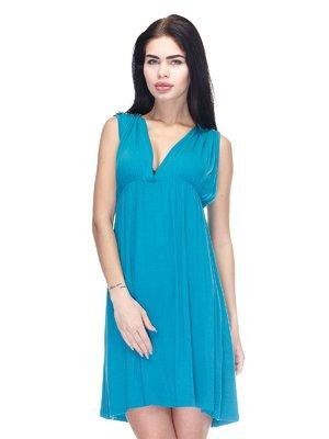 Платье голубое | 3276560