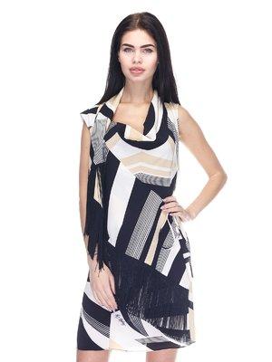 Сукня чорно-бежева | 3276587