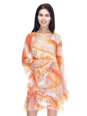 Сукня абстрактного забарвлення   666857