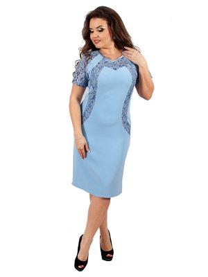 Платье бледно-голубое | 3308007
