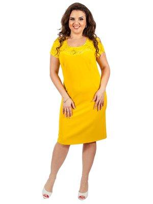 Платье желтое | 3308012