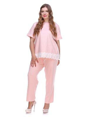 Штани персикового кольору | 3287753