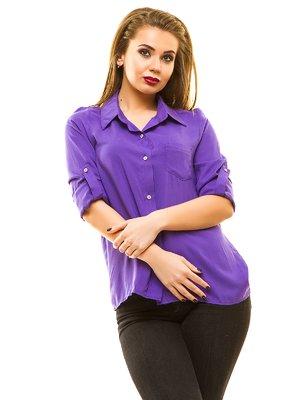 Рубашка фиолетовая   3315372