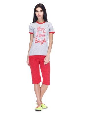 Піжама: футболка і бриджі   3307386