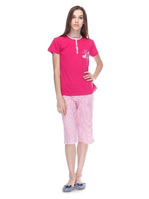 Піжама: футболка і бриджі   3307381