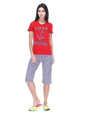 Пижама: футболка и бриджи | 3307379