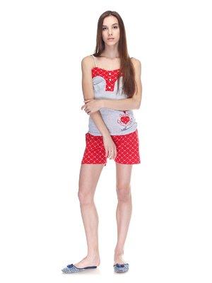 Пижама: майка и шорты | 3307377