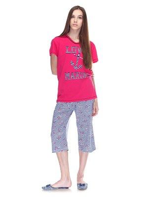 Піжама: футболка і бриджі   3307380