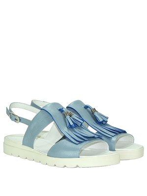 Сандалии голубые | 3315751