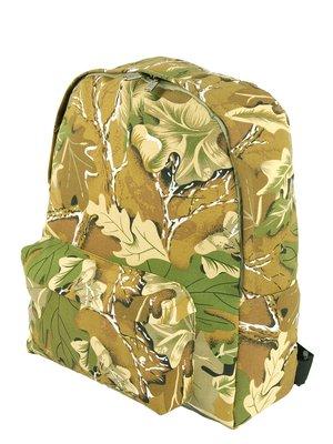 Рюкзак кольору хакі в принт   3299986
