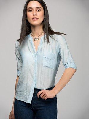 Блуза блакитна | 3315661