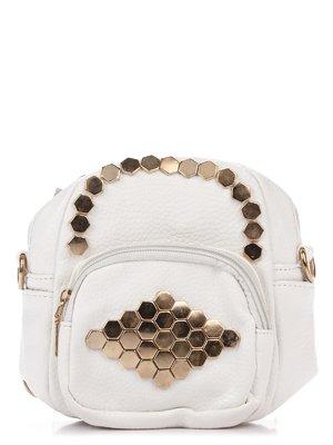 Сумка-рюкзак белая | 3306783