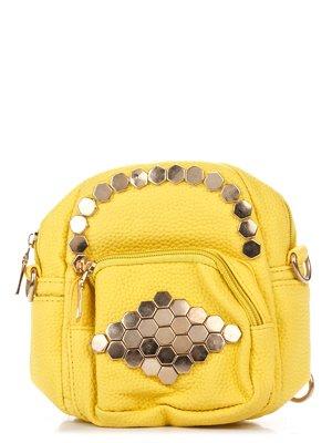 Сумка-рюкзак желтая | 3306786