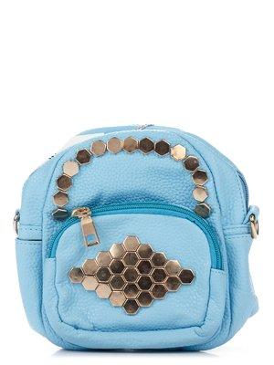 Сумка-рюкзак голубая | 3306785