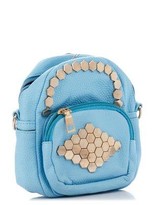 Сумка-рюкзак голубая   3306785