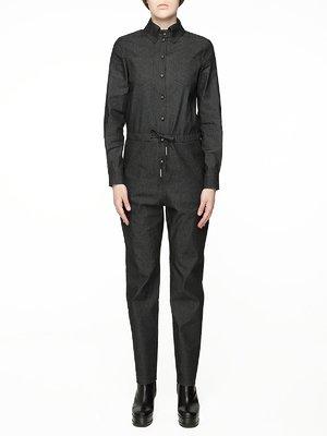 Комбинезон темно-серый джинсовый | 2875472
