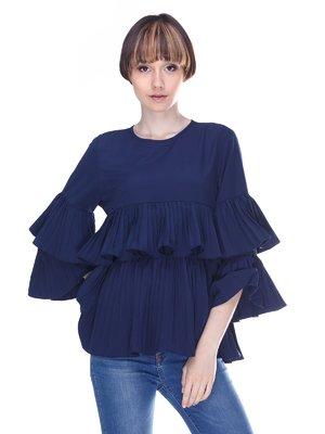 Блуза синяя | 3019408