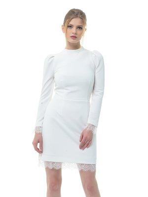 Платье молочного цвета | 3321987
