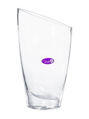 Ваза стеклянная настольная (14x5,5х25 см) | 3324008