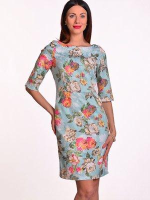 Платье в цветочный принт | 3324227