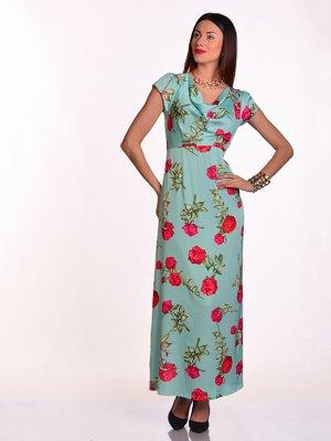 Платье в цветочный принт | 3324230