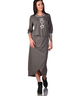 Сукня темно-сіра | 3324256