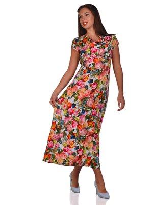 Платье в цветочный принт | 3324282