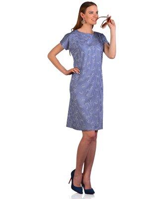 Сукня синя в смужку | 3324299