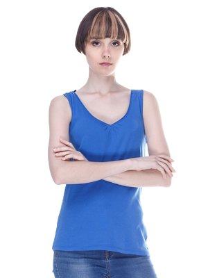 Майка синяя   3207534