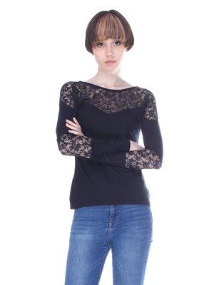 Блуза чорна | 3098890