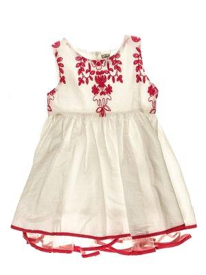 Сукня біло-рожева | 3314924