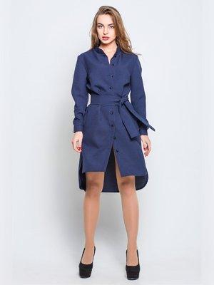 Платье темно-синее | 3328416