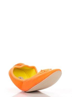 Балетки помаранчеві | 3327963